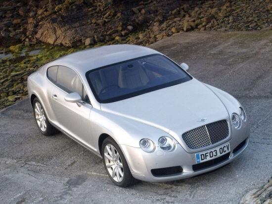Top view 2004 Bentley Continental GT Car Picture