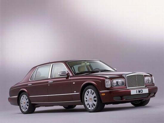 Front right Bentley Arnage RL Car Picture