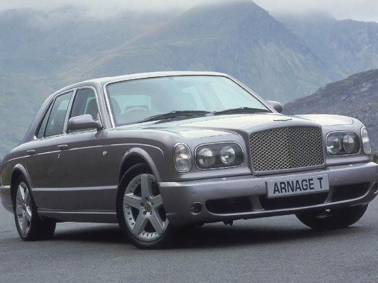 Front Right Bentley Arnage T Car Picture