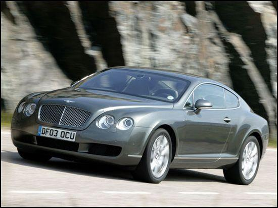 Front left Bentley Continental GT Car Picture