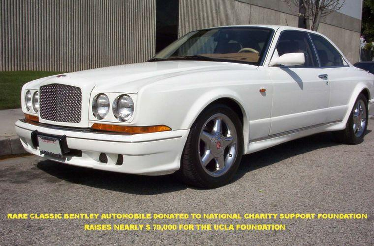 Front left View of The NCSF Bentley Car Picture