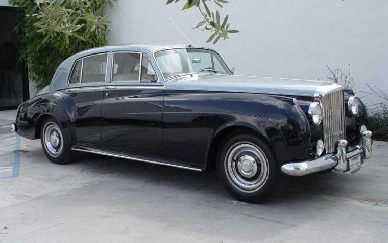 Right Side 1960 Bentley Continental S2 Car Picture