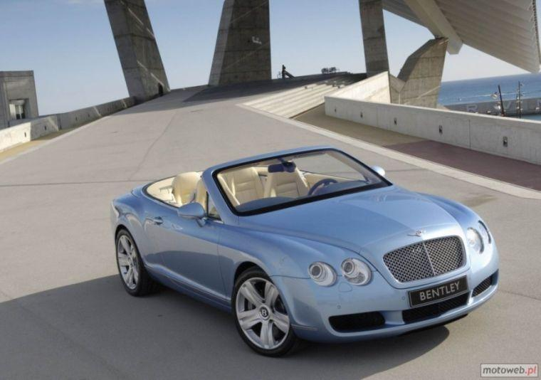 Top View 2006 Bentley Continental GTC Car Picture