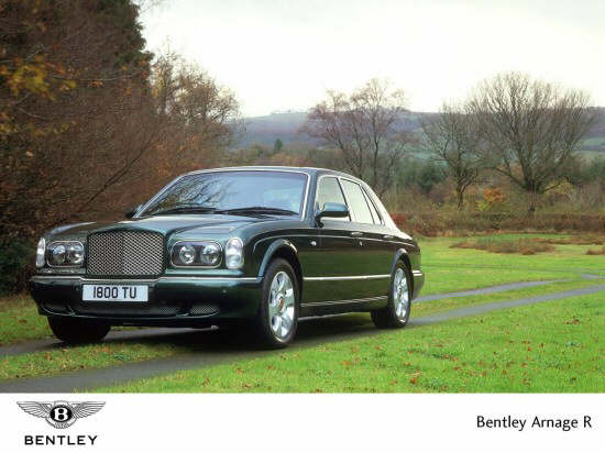 Front left Bentley Arnage R Car Picture