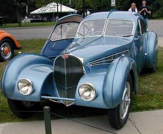 1939 Bugatti T57 Atlantic Car Picture