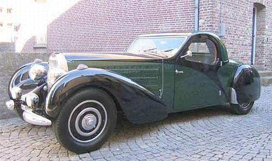 1939 Bugatti T57 Car Picture