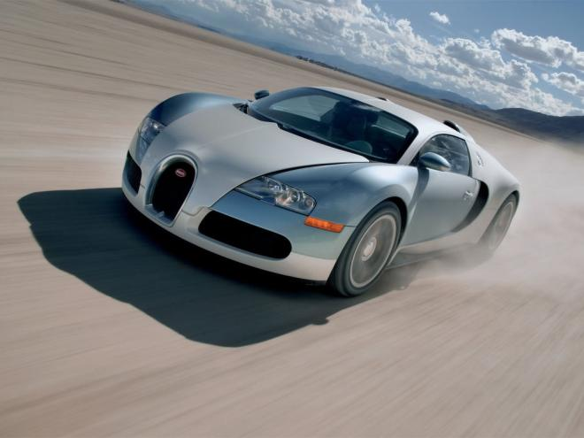 Front left 2006 Bugatti Veyron Car Picture