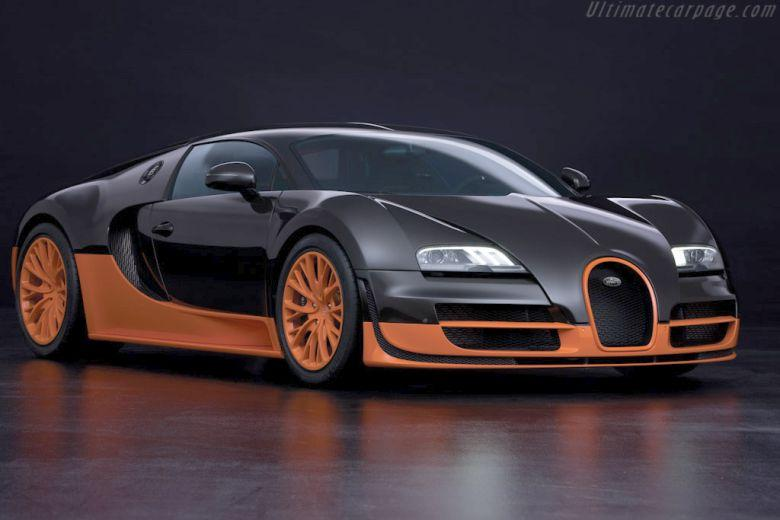 Front Right 2010 Bugatti Veyron Super Sport Car Picture