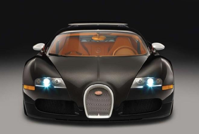 Front View 2010 Bugatti Veyron 16.4 Car Picture