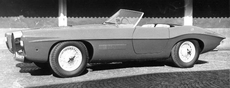 1951 Bugatti T101 Ghia Roadster Car Picture