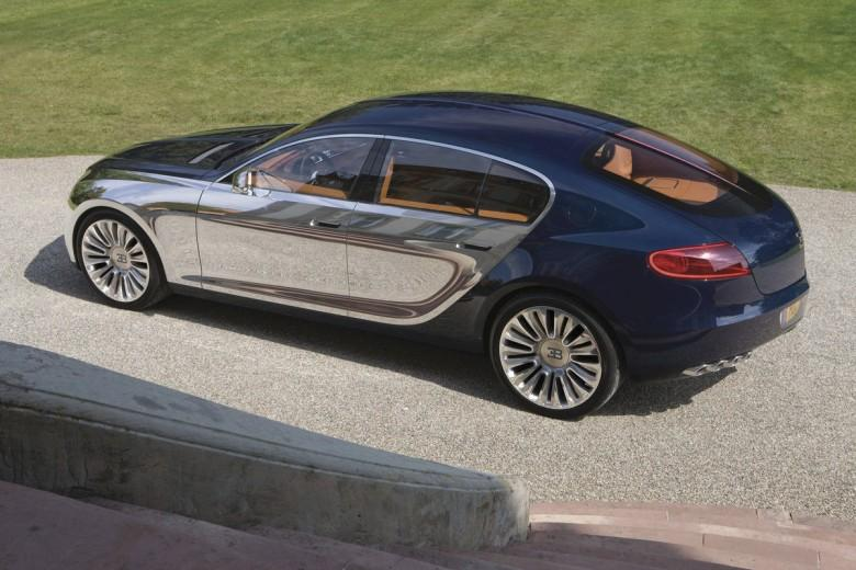 Rear Left 2010 Bugatti Galibier Concept Car Picture