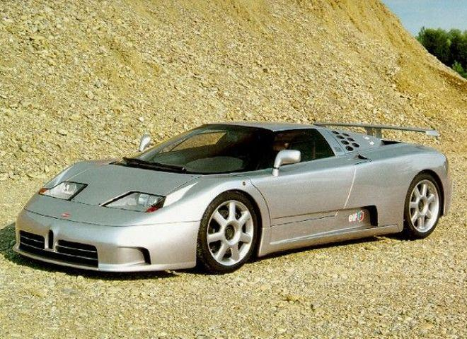 Bugatti EB110 Car Picture