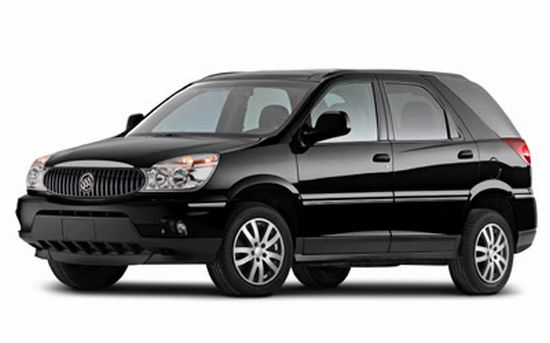 Front left Black 2006 Buick Rendezvous SUV Picture