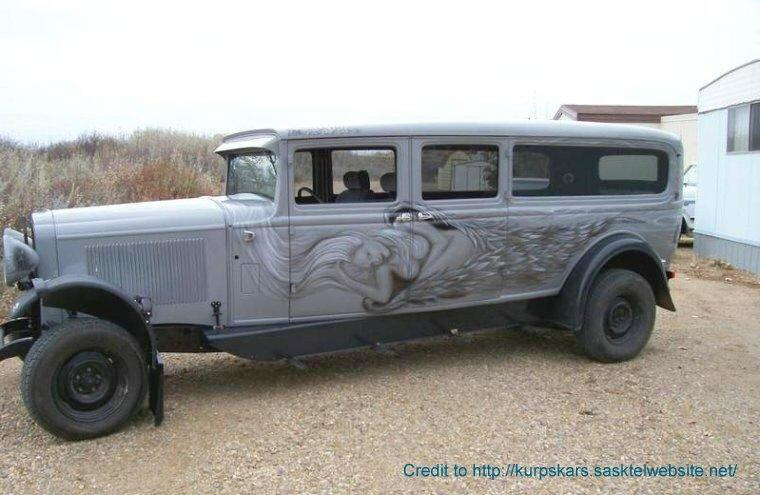 Left Side 1931 Buick Hearse Picture