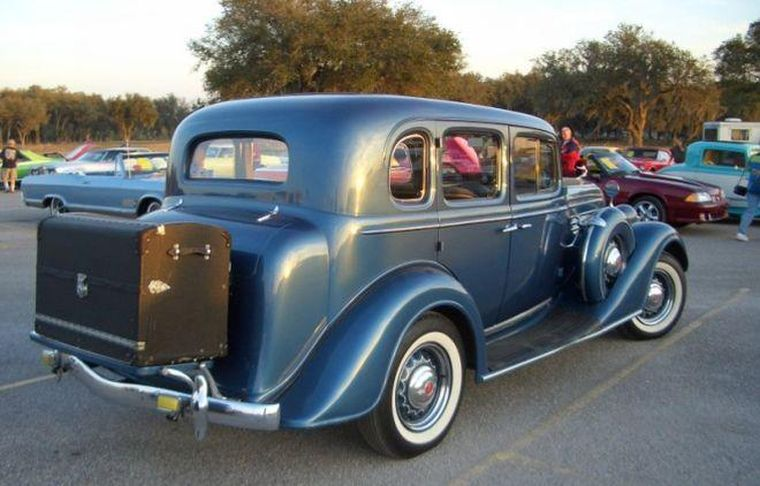 1934 Buick Model 41 Car Picture