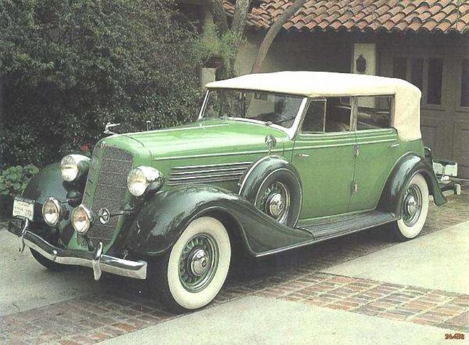 Front Left 1935 Buick Series 60 Phaeton Car Picture
