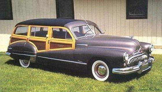 1948 Buick Super Estate Wagon Picture