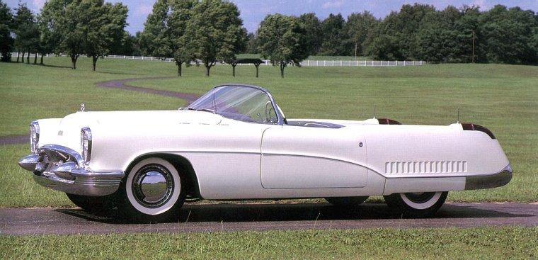 Left Side View 1953 Buick Wildcat Concept Car Picture