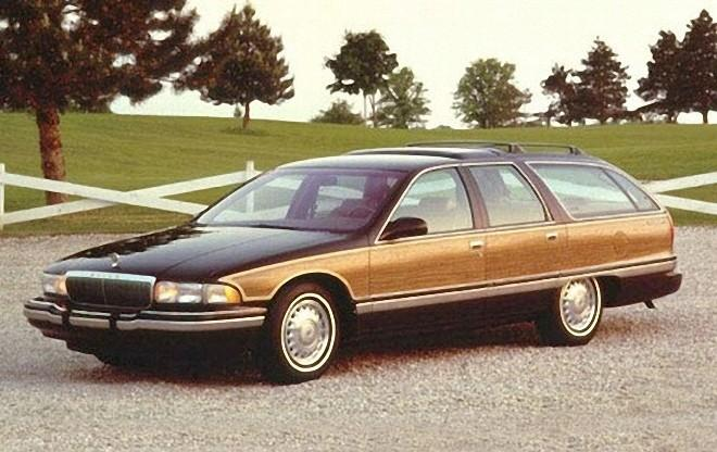 Front Left 1996 Buick Roadmaster Estate Wagon Picture
