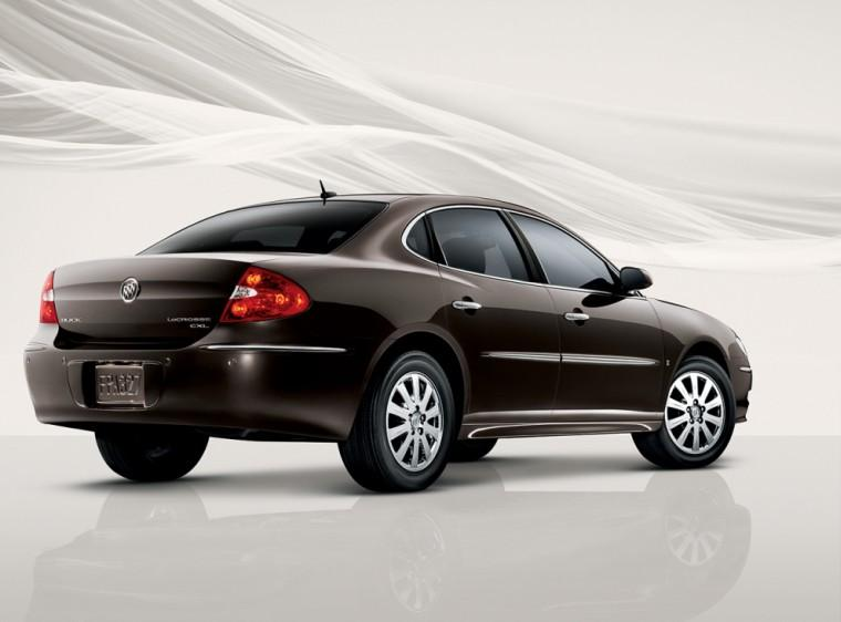 Right Rear 2009 Buick Lacrosse Car Picture