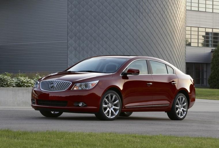 Front Left 2010 Buick Lacrosse CX Car Picture