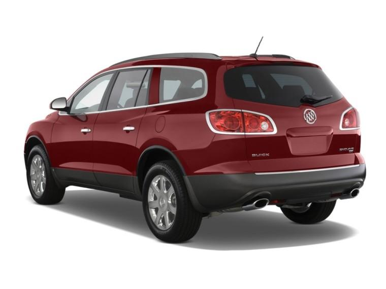 Left Rear 2011 Buick Enclave SUV Picture