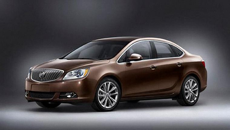 Front Left 2012 Buick Verano Car Picture