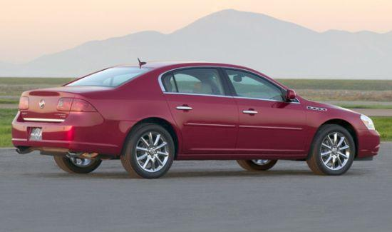 Rear Right Red 2006 Buick Lucerne Car Picture