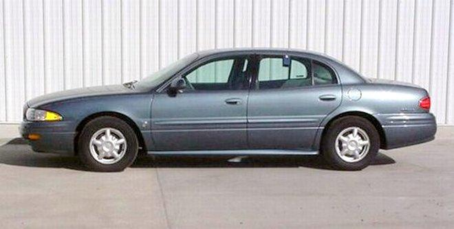 Blue 2000 Buick Lesabre Left Side Car Picture Buick Cars