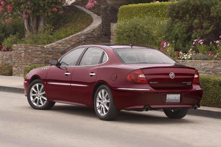 Rear left 2008 Buick Lacrosse Car Picture