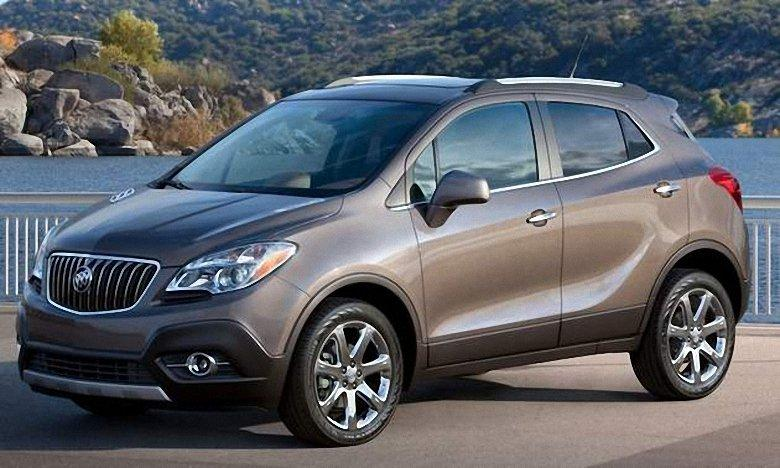 Front Left 2013 Buick Encore Car Picture