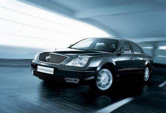 Front left Black 2007 Buick LaCrosse car Picture