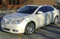 Front Left 2010 Buick Lacrosse Car Picture