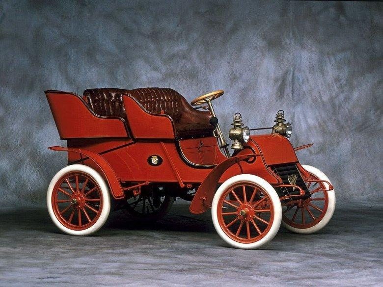 Right Side 1909 Cadillac Model A Runabout Car Picture