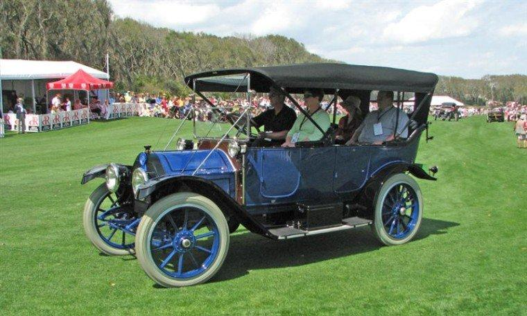 Front Left 1912 Cadillac Model 30 Car Picture