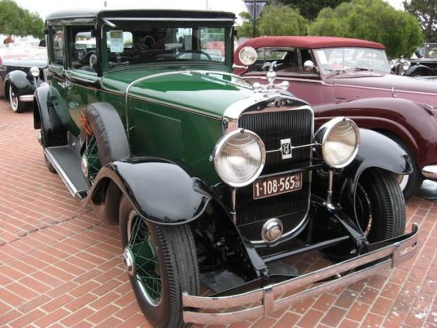 Front Right 1928 Cadillac 341 Car Picture