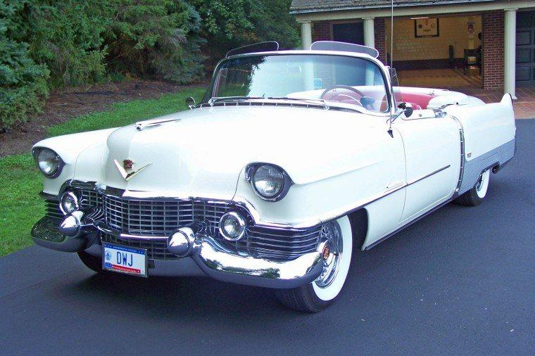 Front Left 1954 Cadillac Eldorado Convertible Car Picture