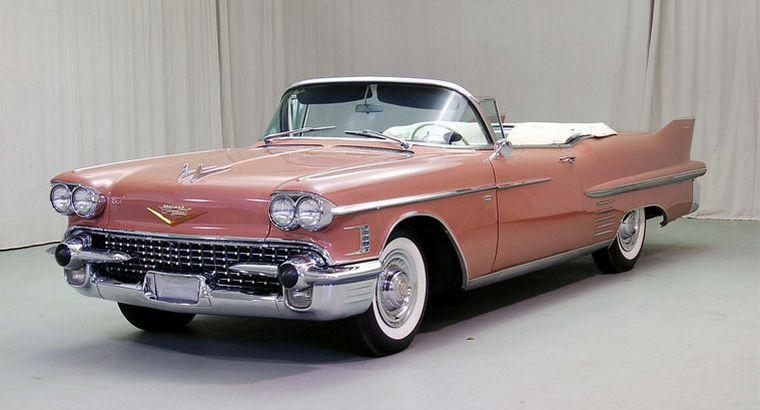 1958 Cadillac Series 62 Car Picture