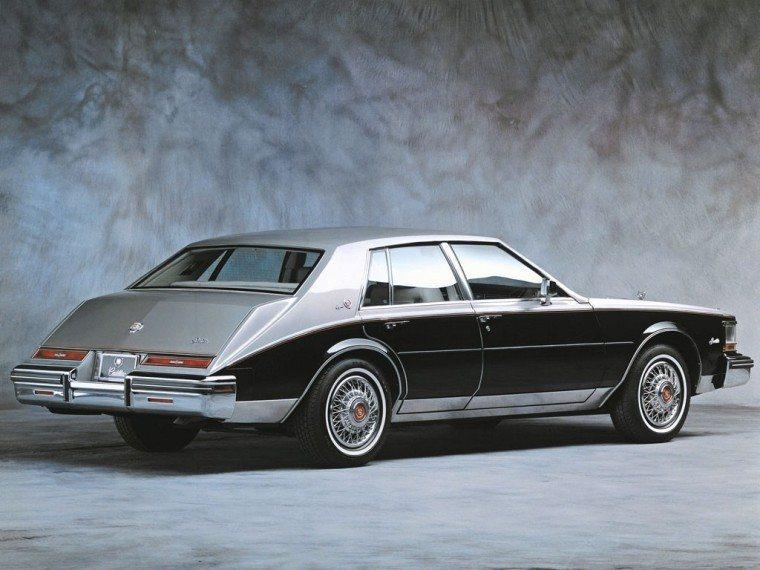 Rear Right 1983 Cadillac Seville Elegante Car Picture