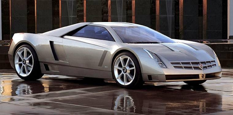 Front Right Cadillac Cien Concept Car Picture
