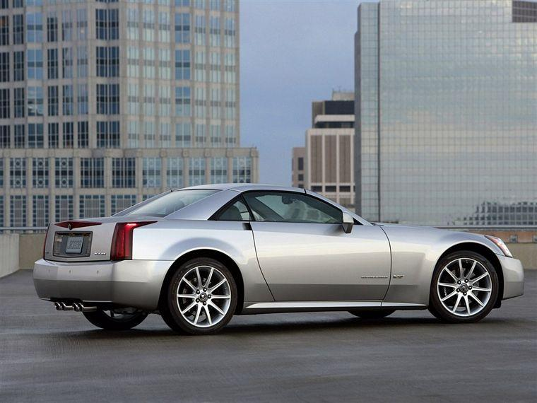 Rear Right Silver 2006 Cadillac XLR-V Car Picture