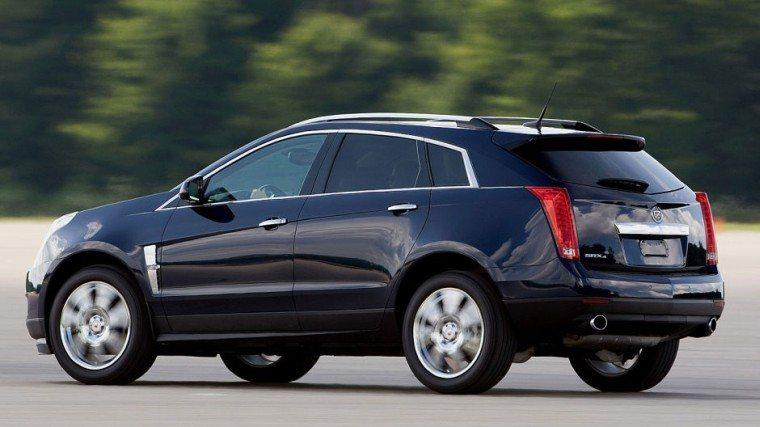 Rear Left 2010 Cadillac SRX SUV Picture