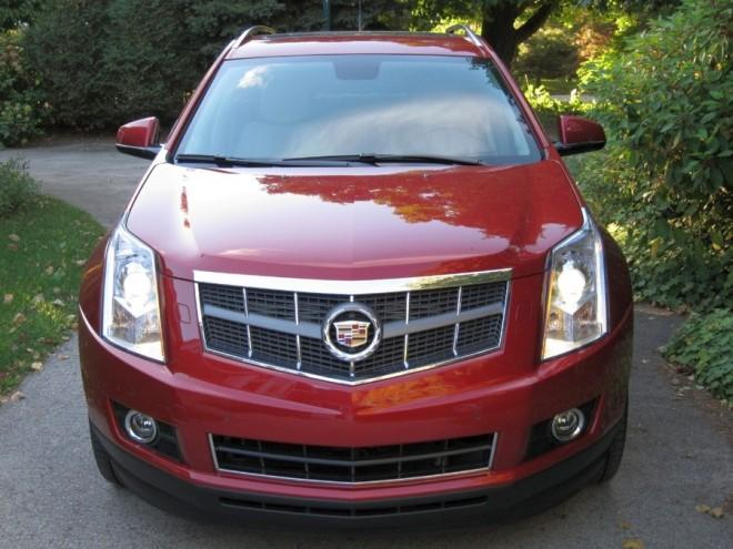 Front View 2011 Cadillac SRX-Turbo Car Picture
