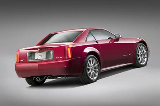 Rear left Red 2006 Cadillac XLR Coupe Car Picture
