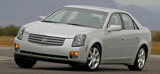 Front left Gray 2006 Cadillac CTS Sedan Car Picture