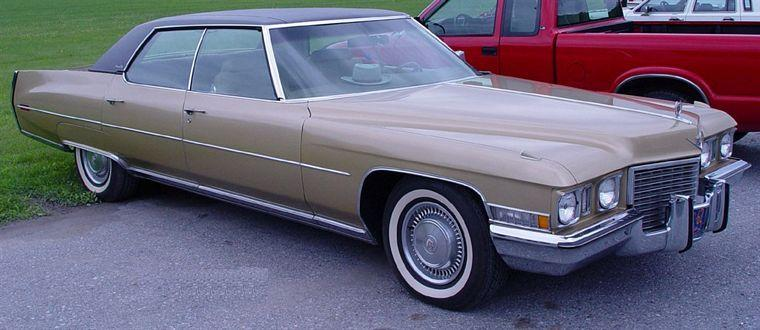 1971 Cadillac Sedan DeVille Car Picture