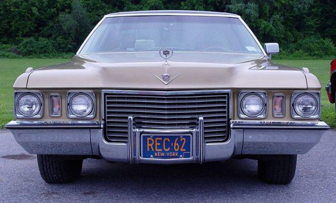 1971 Cadillac Deville Sedan Car Picture