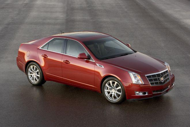 2008 Cadillac CTS Car Picture