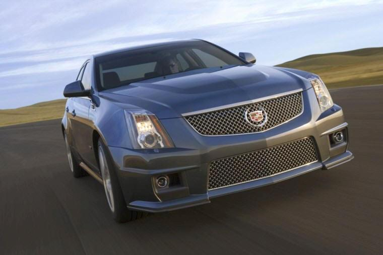 Front view 2009 Cadillac CTS-V Car Picture