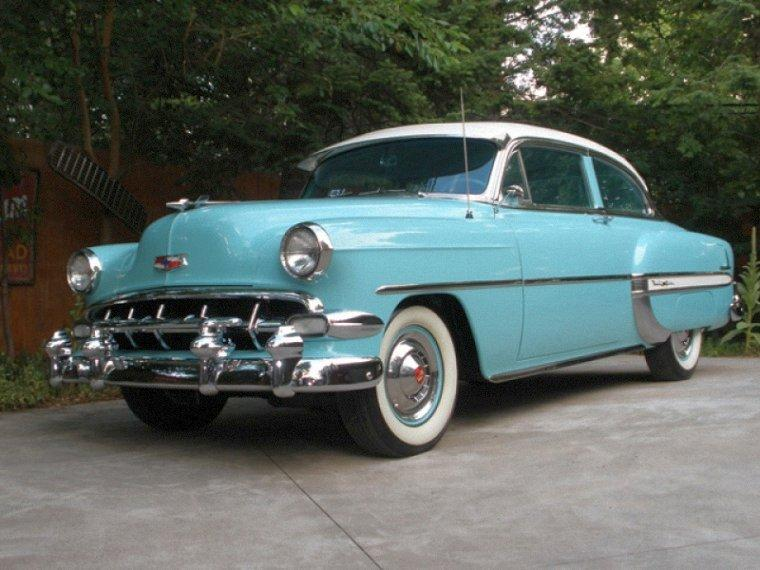 Front Left 1954 Chevolet Bel Air Car Picture